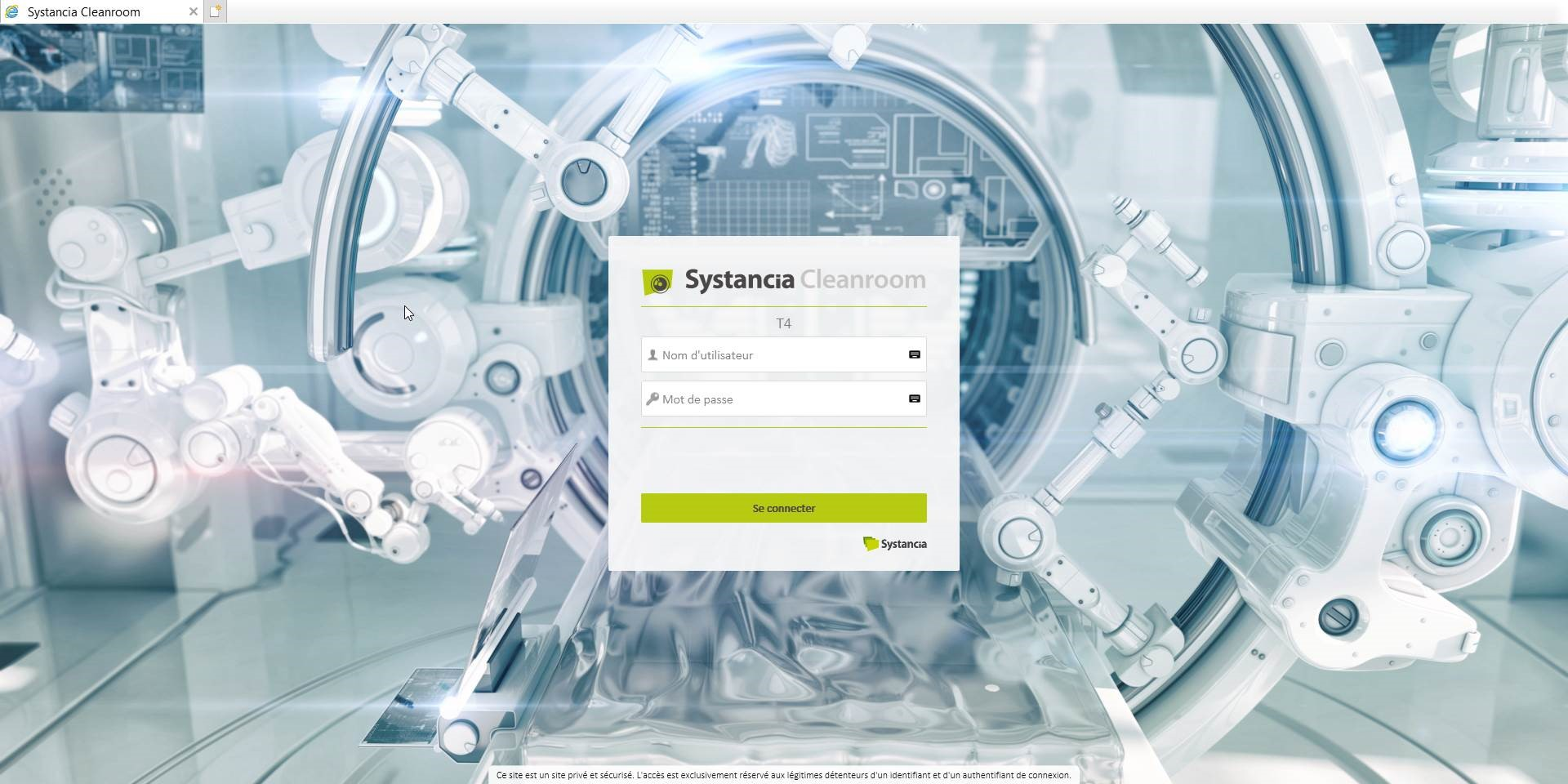 Systancia Cleanroom 4