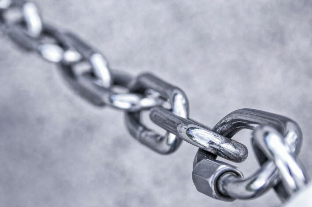 Zero trust chain