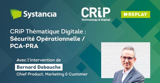 CRiP Thématique digitale : Sécurité opérationnelle